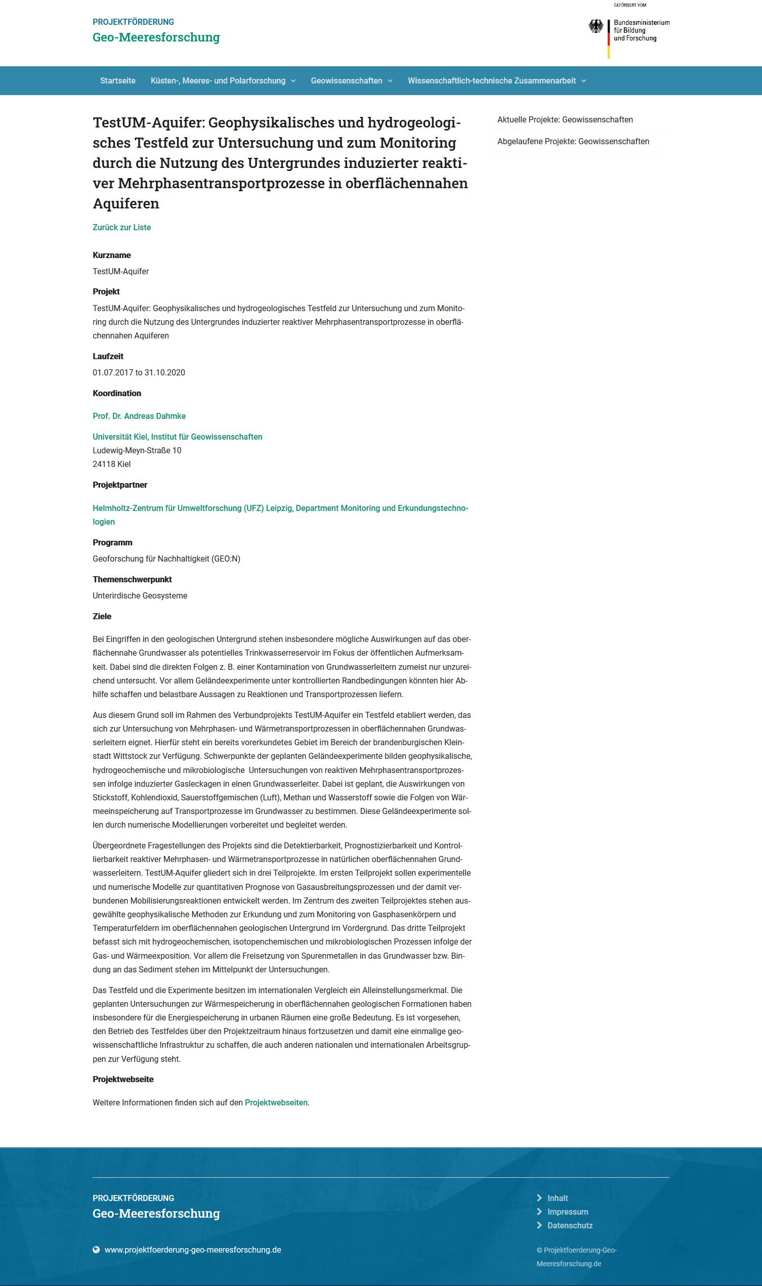 PRESSE Screenshot Geomeeresforschung